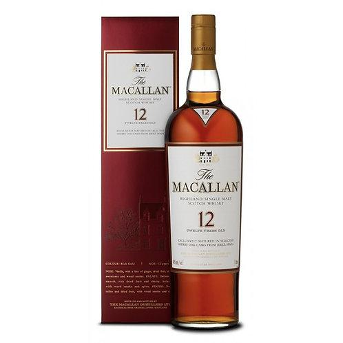 麥卡倫雪梨桶12年 The Macallan 12 Years Old Sherry Oak