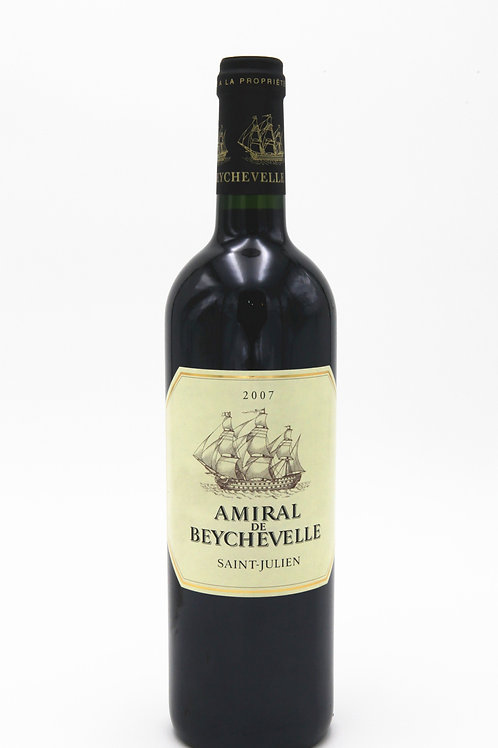 龍船紅酒 Amiral Be Beychevelle 2007