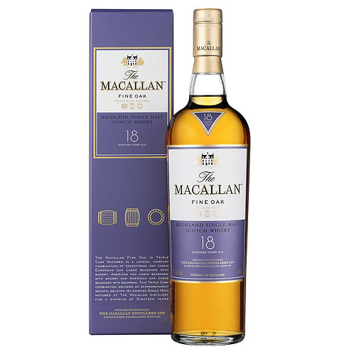 麥卡倫橡木桶18年 The Macallan 18 Years Old Fine Oak
