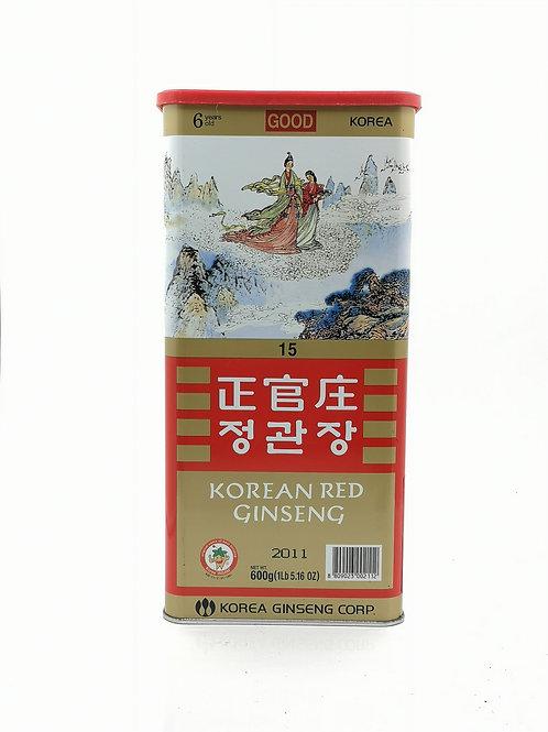 正官庄高麗參1斤裝(良15)2011年