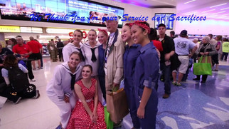 Competitive Dance Squad at Welcome Home  September 9, 2017