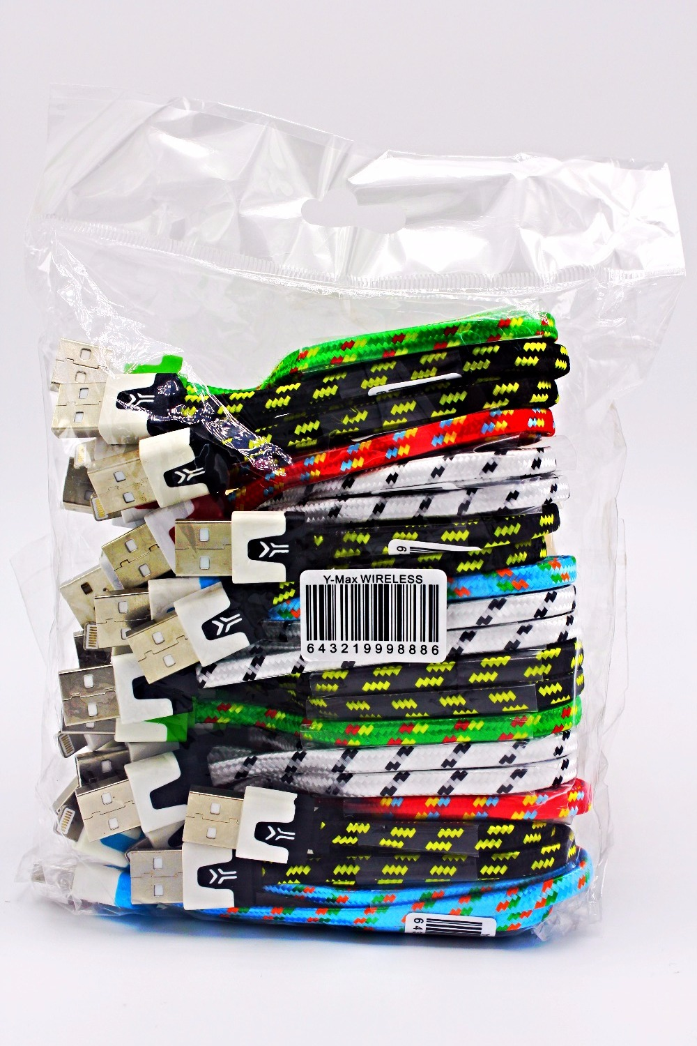 3 Ft. Braided Cable Refill Packaging