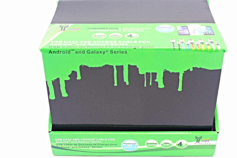CD-24F - Micro USB - Box Packaging