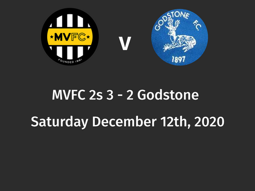 Post match review, MVFC 2s 3 - 2 Godstone