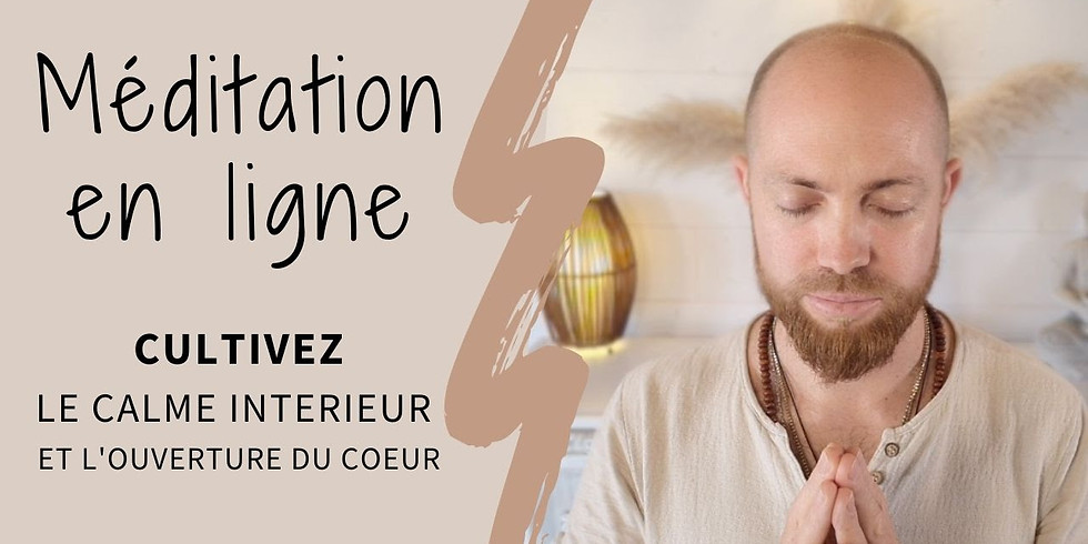 Méditation LIVE Gratuit