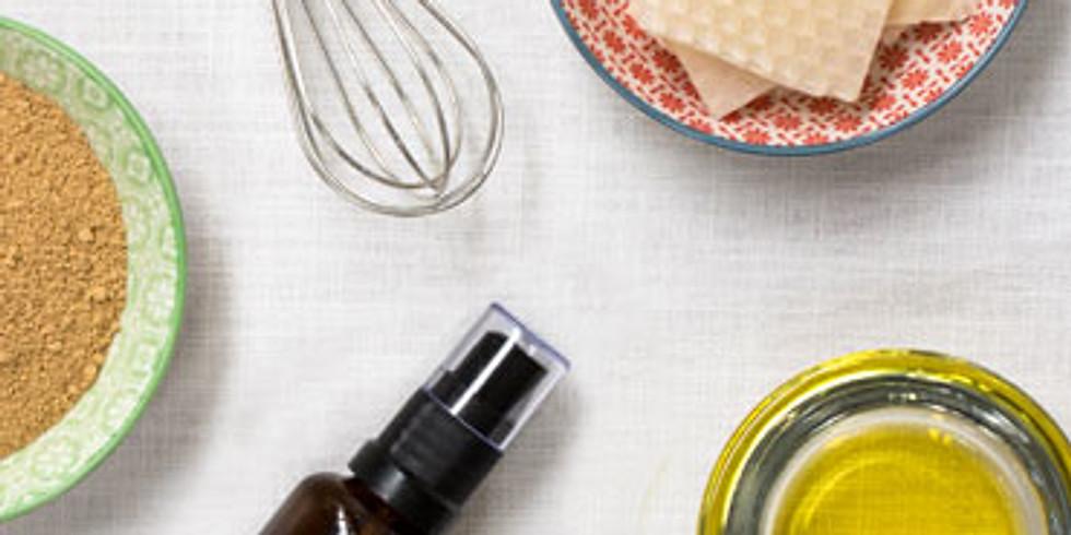Atelier cosmétiques naturels BIO : je prends soin de moi au naturel (1)