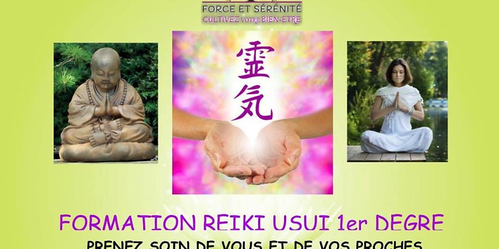 Formation REIKI Degré 1
