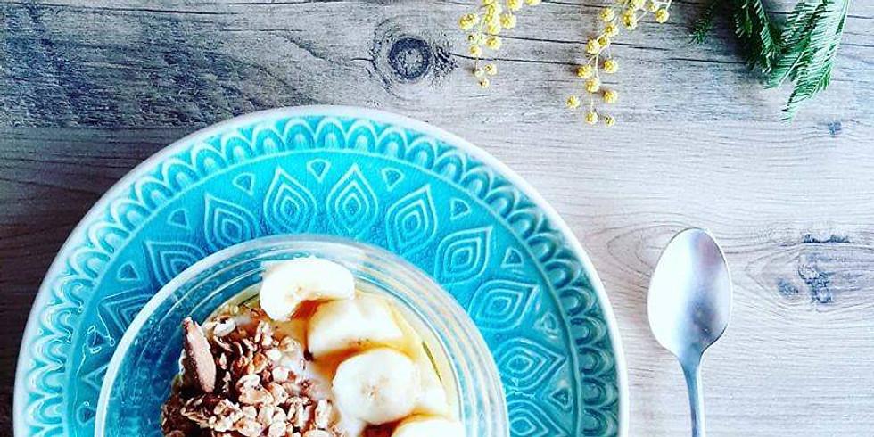 Atelier petit Dej' healthy et gourmand : Laits végétaux granola