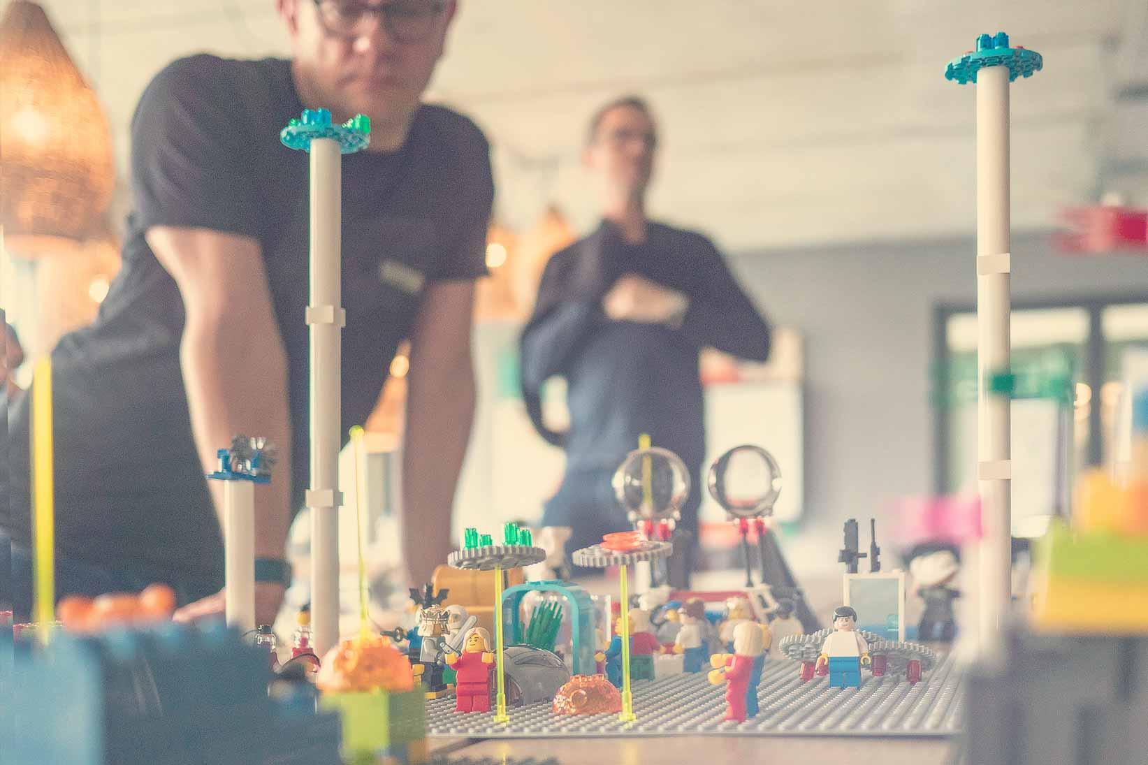 Präsentation der Lego LSP Modelle