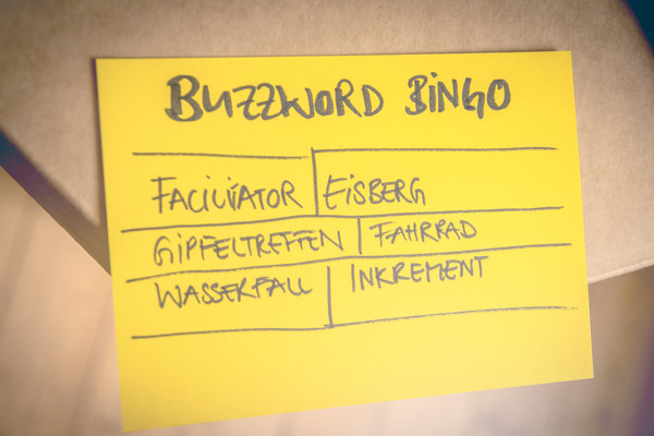 Buzzword Agile Scrum