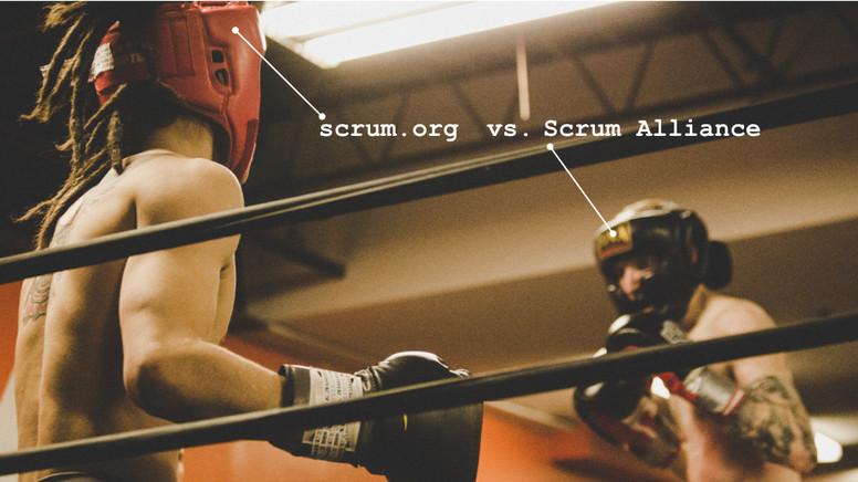 Scrum.org oder scrum alliance?