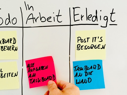 Easy Einstieg in agiles Arbeiten – Agile Toolbox Teil eins: das Taskboard