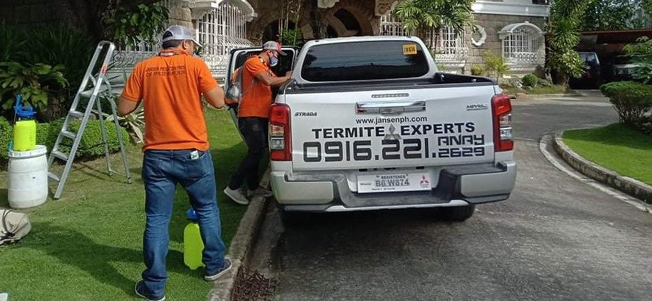jansen pest control team of termite expe