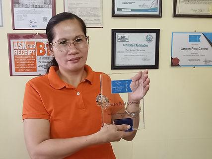 best pest control philippines award trop