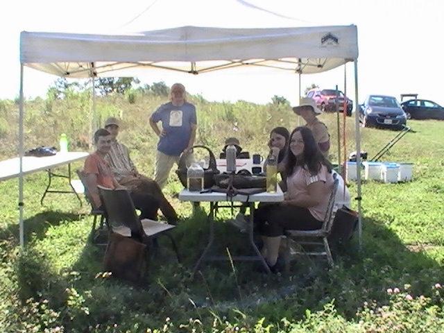 Teens gather for tea & conversation