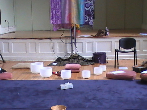 Grief Ceremony with Death Doulas / Conscious Dying Institute- Healing through Sound and Voice with C