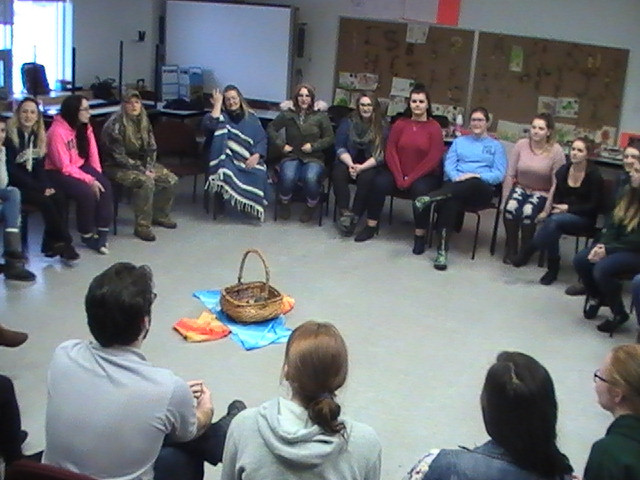 Knowledge Sharing Circle with ECE students at Algonquin College