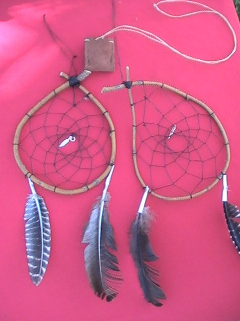 Dream Catcher Activity with Two Bears
