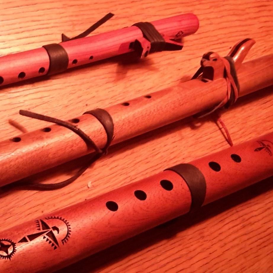 Medicine Flutes. Holistic Health