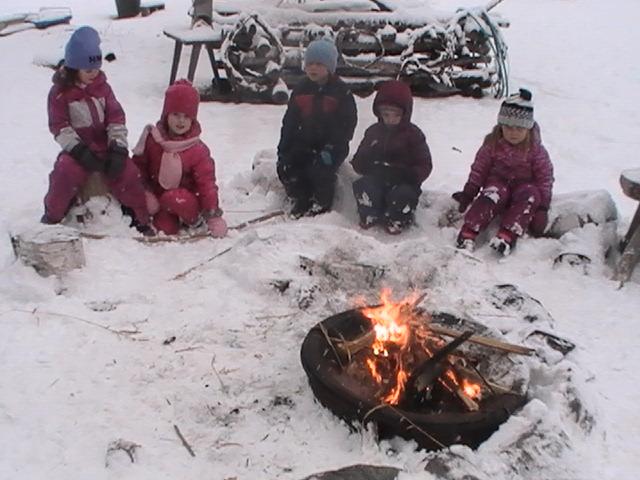Fireside Circle Sharing