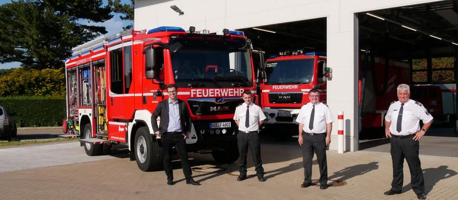 Neue Fahrzeuge für die Nettetaler Feuerwehr