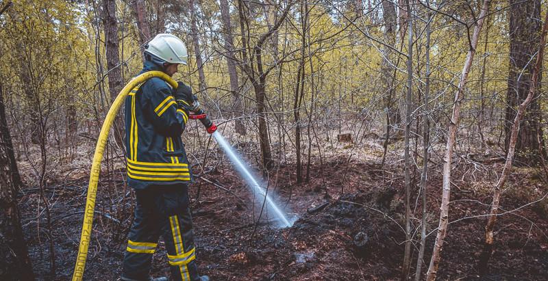 Pressemitteilung: Flächenbrand im Waldgebiet Venloer Heide an Tor 9
