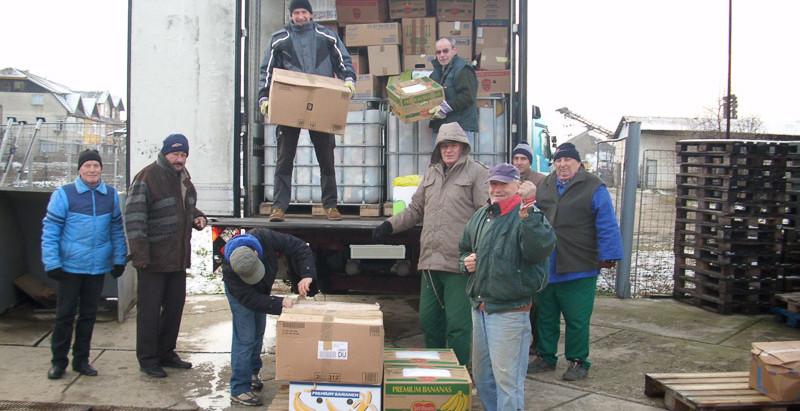 Lebensmittelsammelaktion ohne Unterstützungen der Feuerwehren