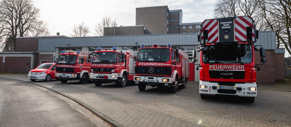 Löschzug Kaldenkirchen spendet Geld an Flutopfer