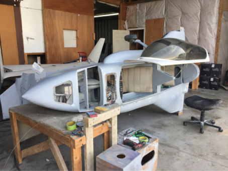 Working On the Fuselage