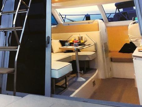 船内家具:取付完了しました!