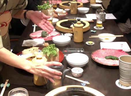 2019たか福:すき焼き作り