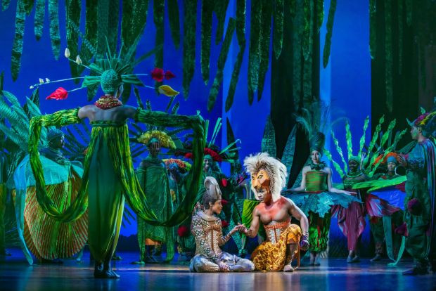 The Lion King, UK musical