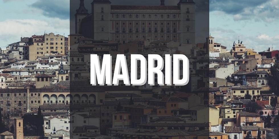 Taller Presencial en Madrid, España 🇪🇸