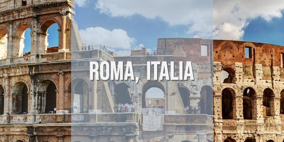 Taller Presencial en Roma, Italia 🇮🇹