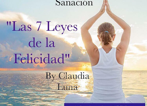 """Curso 6 """"Las 7 Leyes de la Felicidad"""""""