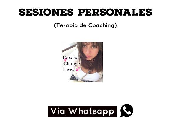 "Sesiones privadas de Terapia de Coaching ""One on One"""