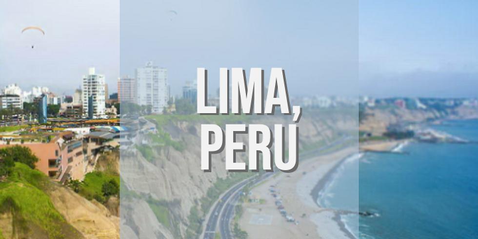 Taller Presencial en Lima, Peru 🇵🇪