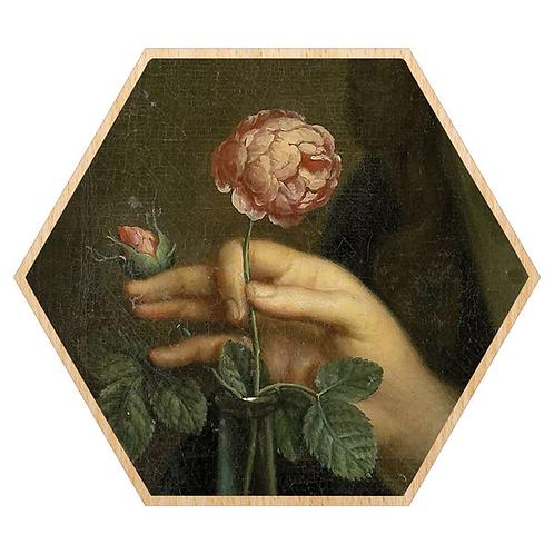 Museum Flower Framed Print