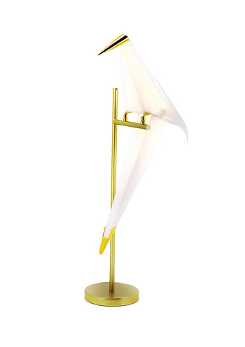 Single Bird Table Lamp