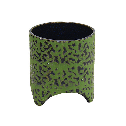 Ceramic Paint Splash Short Pot