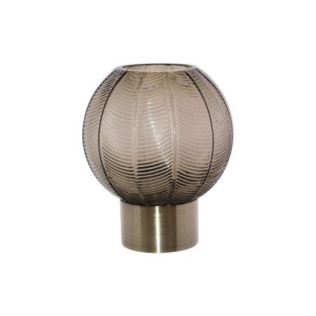 Smoke Ball Vase Gold Base