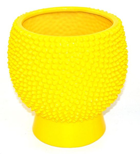 Pot Ceramic Yellow