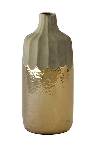 Gold Drip Bottle Tall