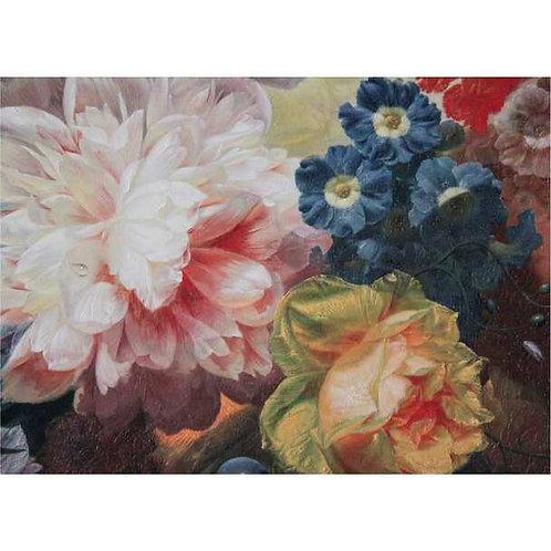 Watercolour flowers Disposable Placemat