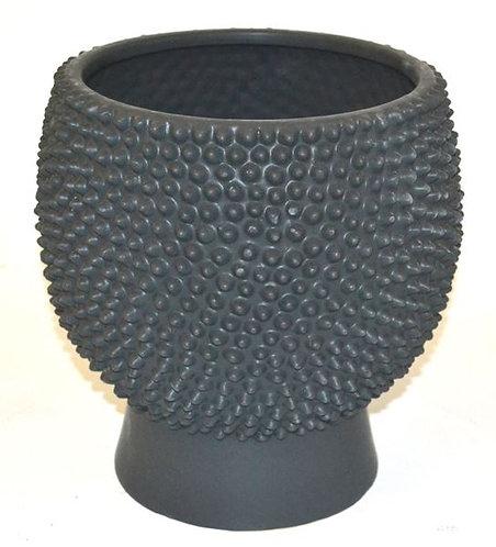 Pot Ceramic Black