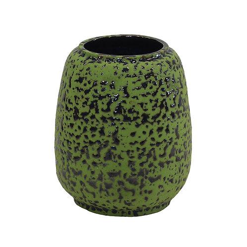 Ceramic Paint Splash Tall Pot