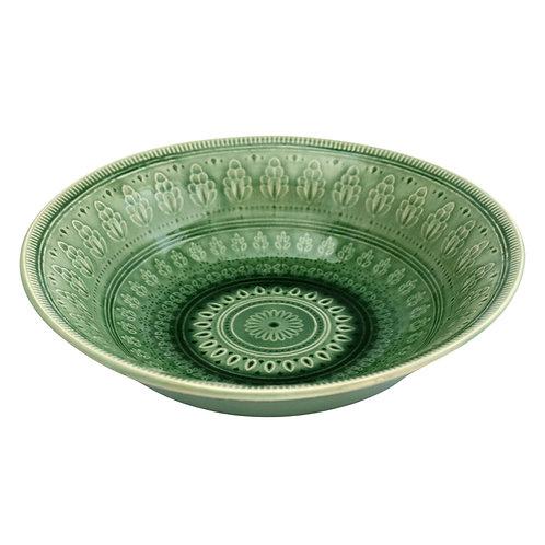 Green Ceramic Bowl Large