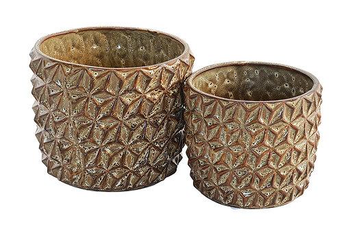 Ceramic Expresso Prism Pot