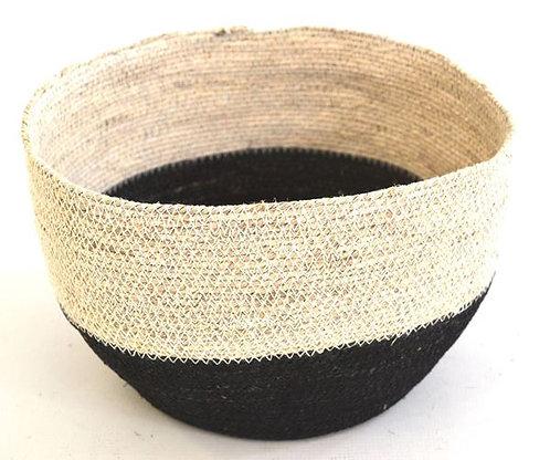 Bowl Basket Black & White
