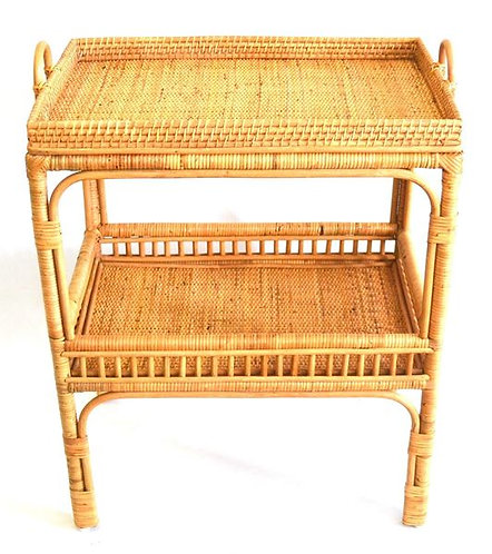 Table 2 Tier Rattan Natural